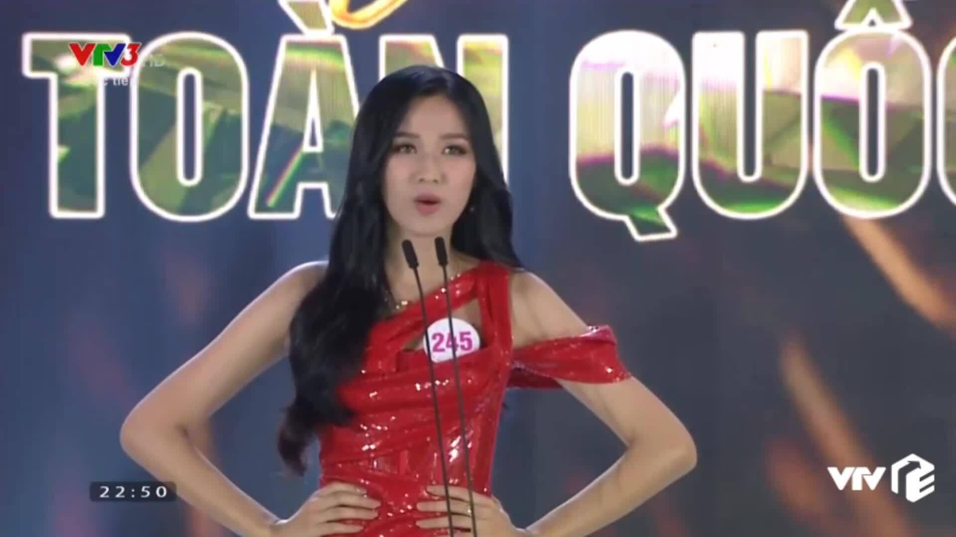 Ứng xử top 5 Hoa hậu Việt Nam 2020