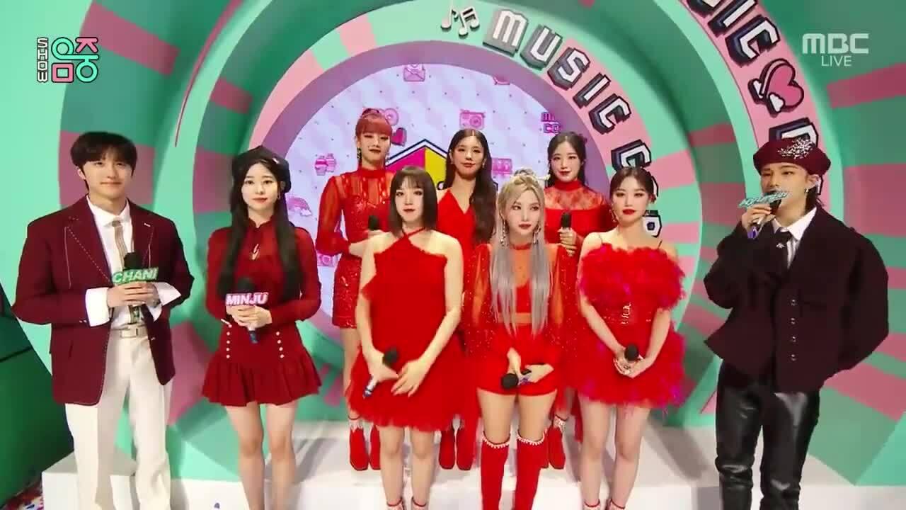 Min Joo (IZONE) và Mi Yeon (G)I-DLE so visual bất phân thắng bại khi chung khung hình