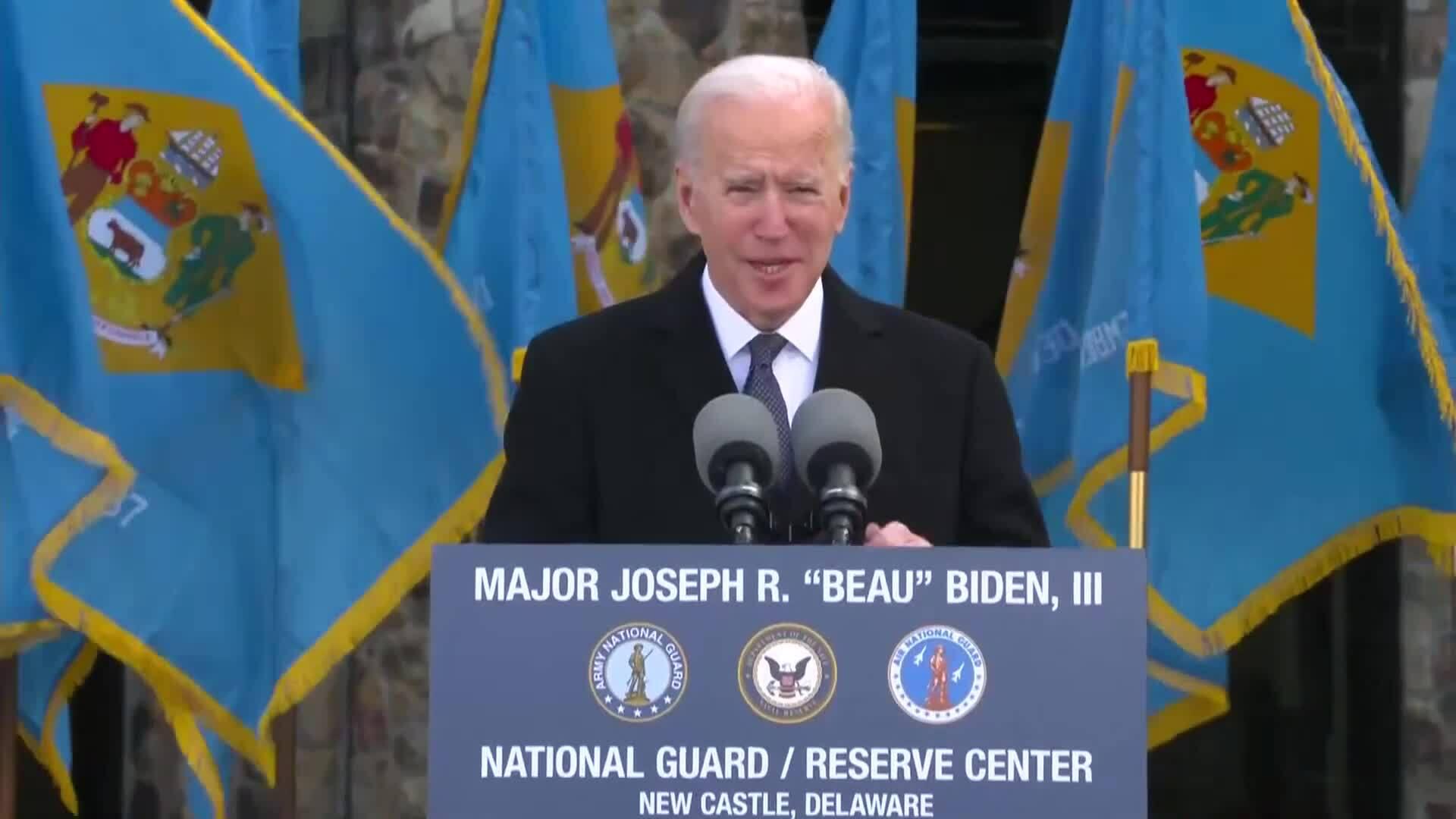 Joe Biden khóc khi nhắc về con trai quá cố trong bài tạm biệt