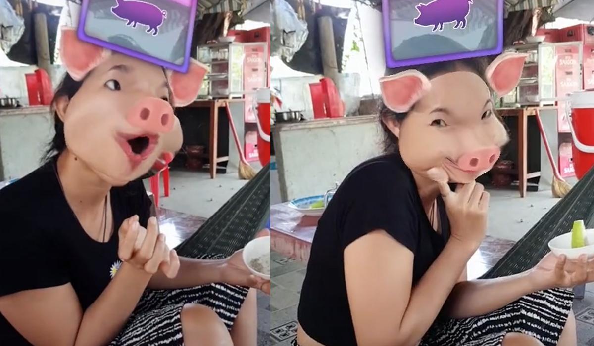 Troll vợ thành con lợn