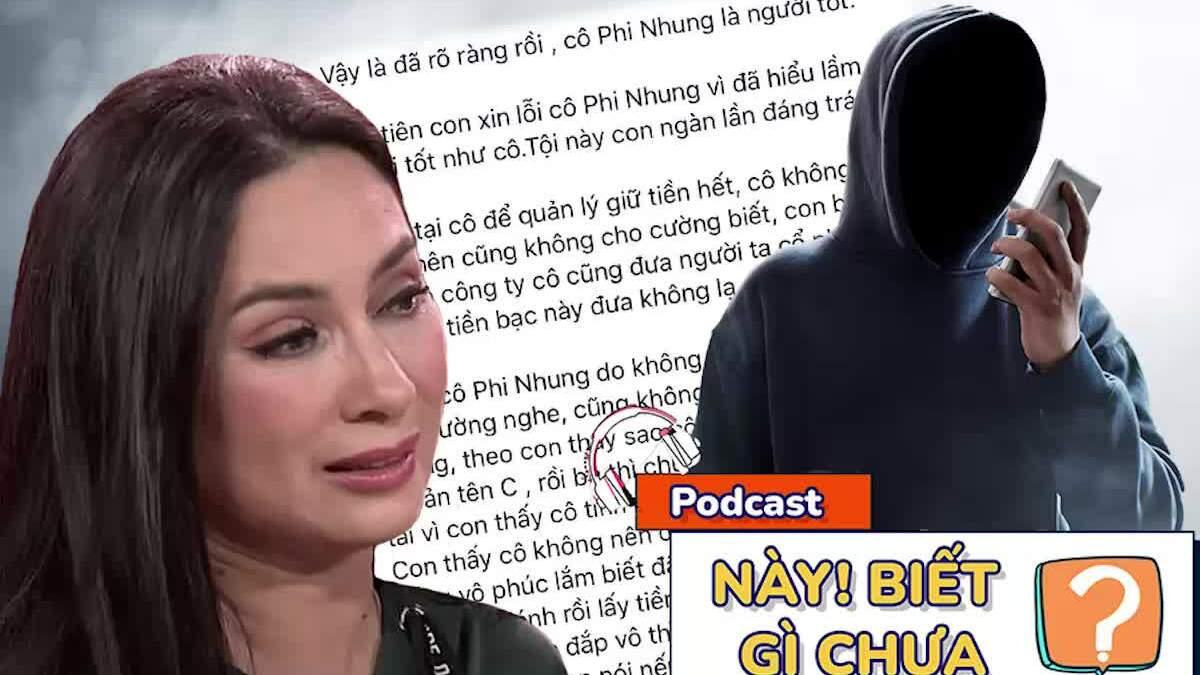 Nhâm Hoàng Khang xin lỗi Phi Nhung nhưng đầy mùi 'cà khịa'
