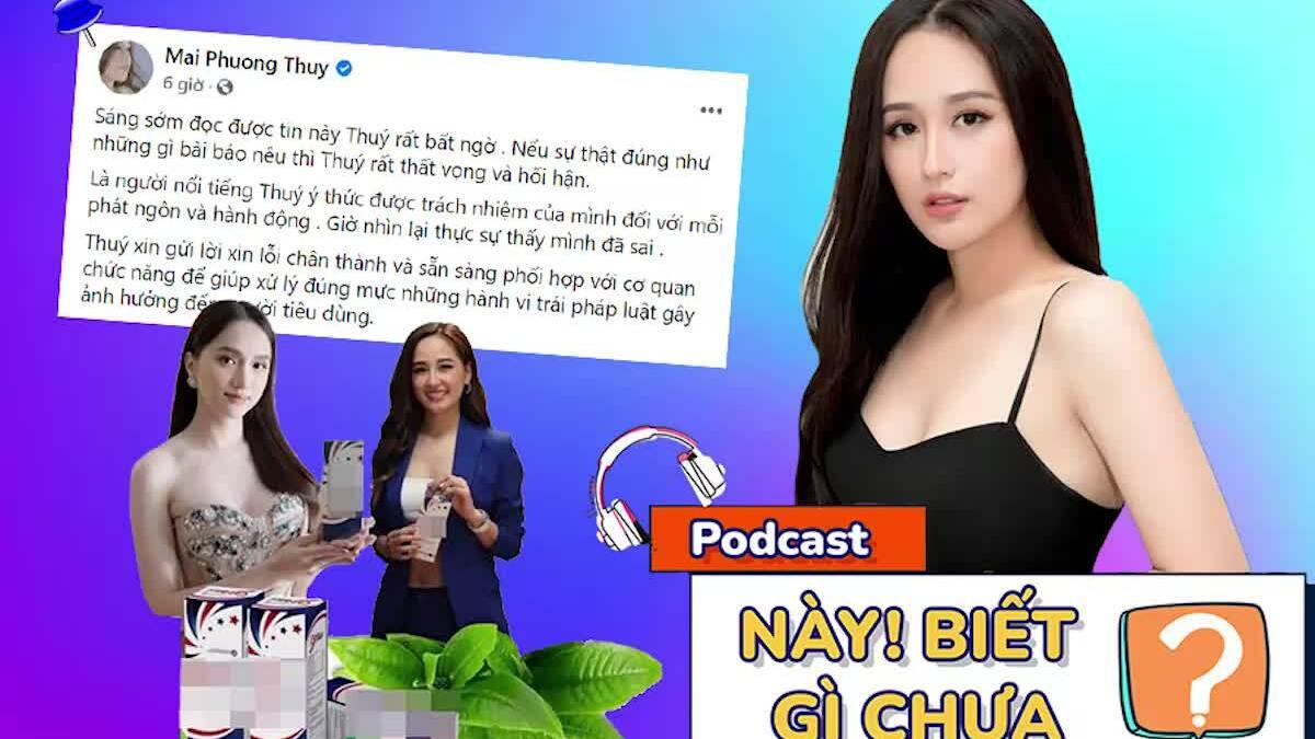 Cùng quảng cáo sản phẩm sai phạm, Mai Phương Thúy xin lỗi còn Hương Giang mất tích