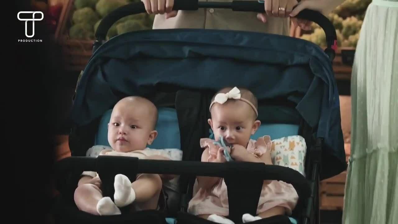 Hồ Ngọc Hà đưa hai con đi quay quảng cáo