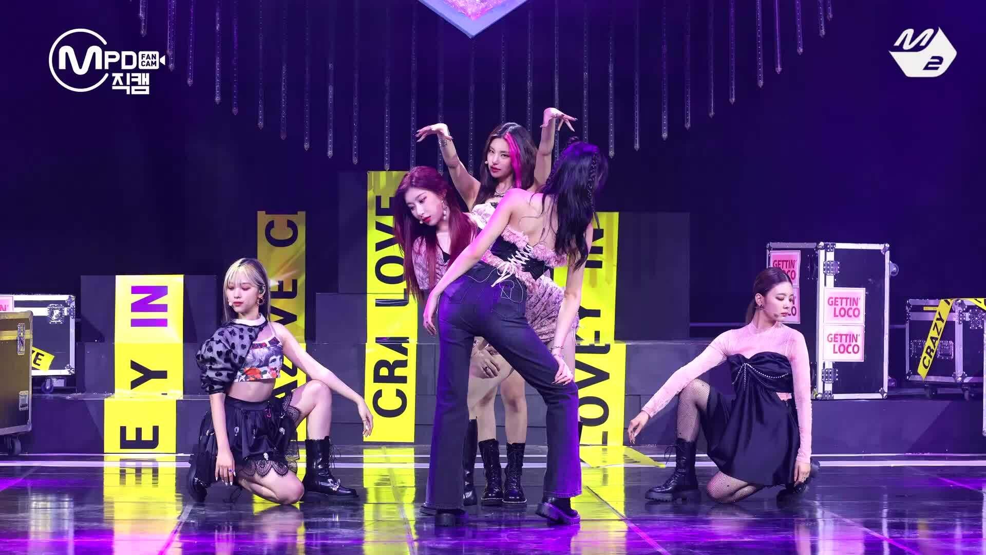 ITZY khoe vũ đạo 'LOCO' cực 'cháy' trên sân khấu live