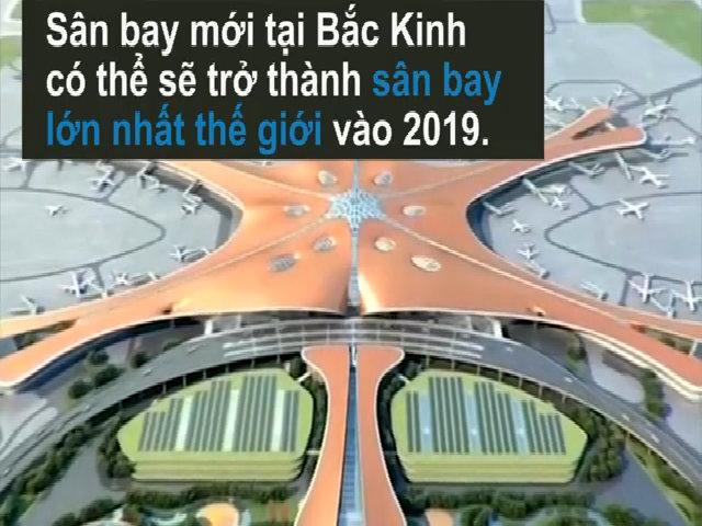 12 tỷ đôla xây sân bay lớn nhất thế giới tại Bắc Kinh