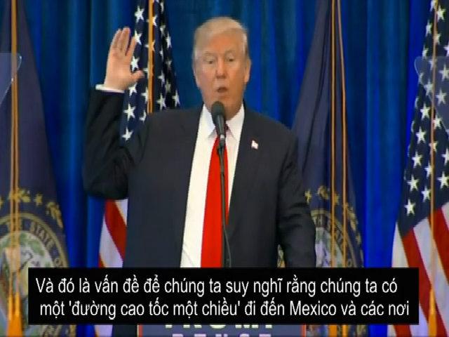 Lời hứa của ông Trump dành cho kinh tế Mỹ