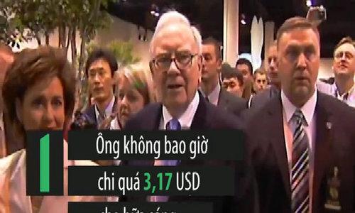 Những thói quen hài hước và tằn tiện nhất của Warren Buffett