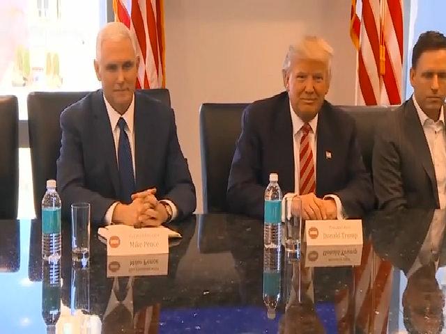 Trump gặp các lãnh đạo công nghệ tại Mỹ