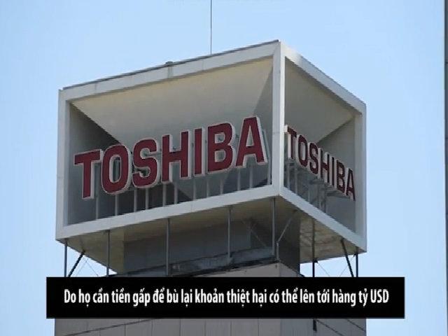 Toshiba muốn bán mảng chip nhớ