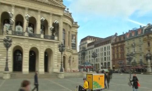 DHL thí điểm giao hàng bằng xe đạp ở Đức và Hà Lan - Video embed - VnExpress Kinh Doanh
