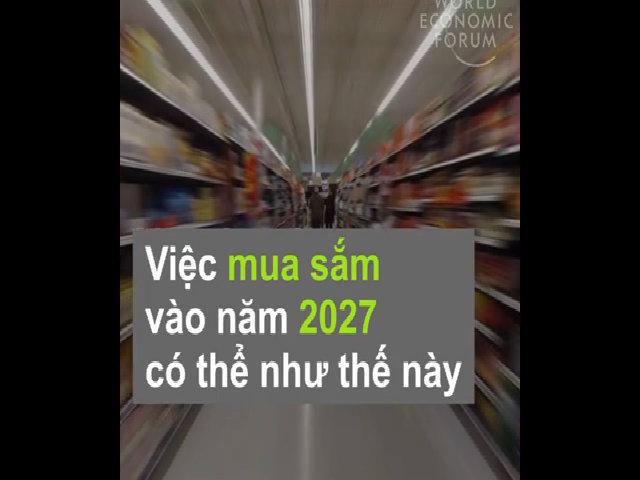 Cách con người mua sắm vào 2027