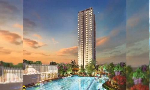 Tòa nhà đẹp nhất dự án Saigon South Residences