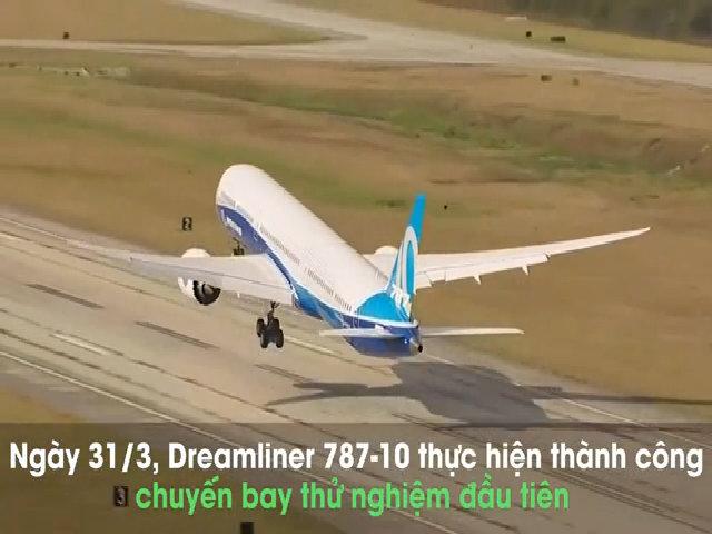 'Giấc mơ bay' lớn nhất của Boeing lần đầu cất cánh