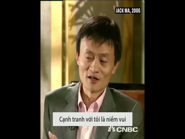 Jack Ma: May mắn khi có những đối thủ lớn như eBay hay Google