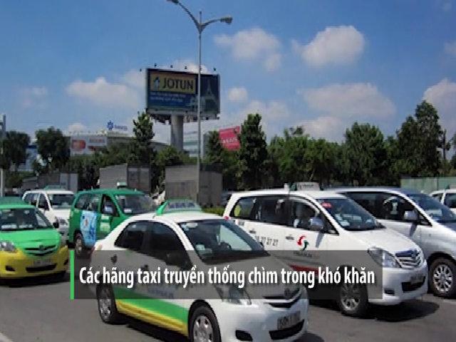 Taxi truyền thống bị dồn đến đường cùng