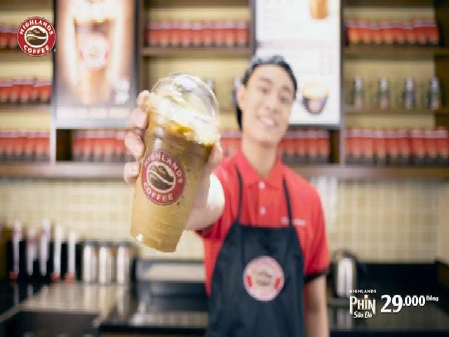 Highlands cà phê Phin sữa đá - đậm đà chất phin chỉ với 29.000 đồng