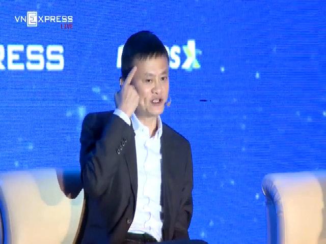 Jack Ma: Bạn mất 1 USD tôi đền 1 USD, bạn mất 1 triệu USD tôi đền 1 triệu USD