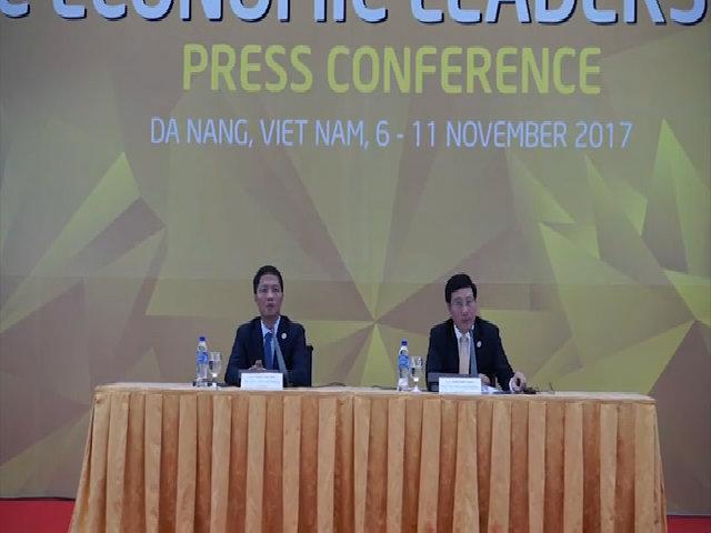 Bộ trưởng Công thương Trần Tuấn Anh cập nhật thông tin đàm phán TPP tại APEC