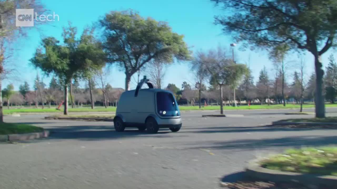 Xe giao hàng tự lái sắp thành hiện thực ở Mỹ