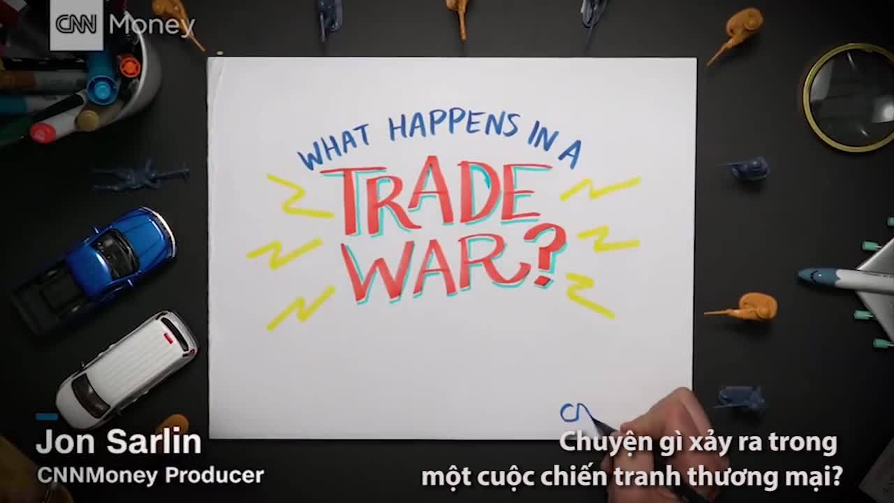 'Kịch bản chung' của một cuộc chiến tranh thương mại