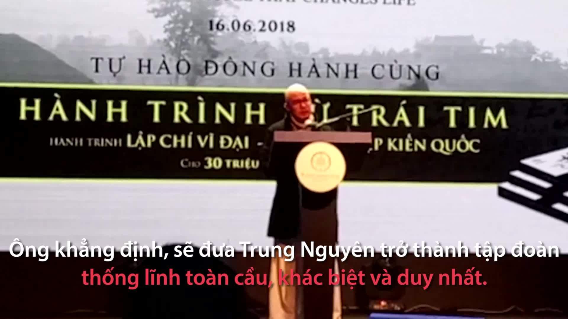 Ông Đặng Lê Nguyên Vũ tái xuất