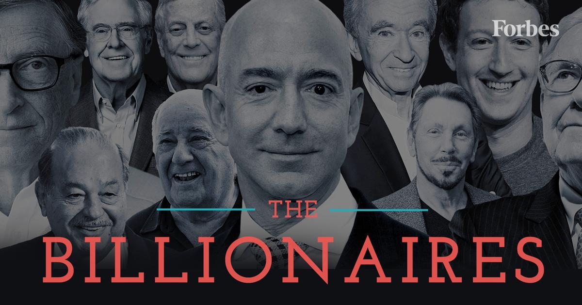 10 tỷ phú giàu nhất hành tinh năm nay