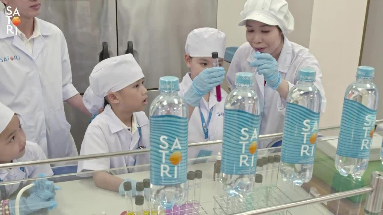 Chuyến tham quan nhà máy Satori mở ra những trải nghiệm thú vị