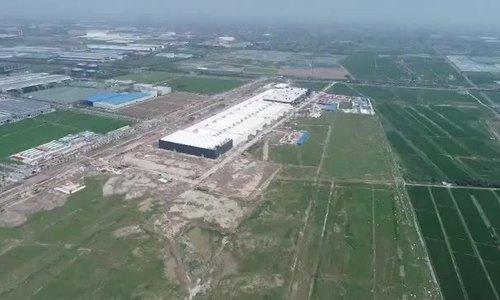 Tesla xây nhà máy tại Trung Quốc với tốc độ chóng mặt