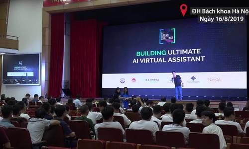 Trợ lý ảo tổng đài tiếng Việt dành chiến thắng Hackathon Vietnam AI Grand Challenge