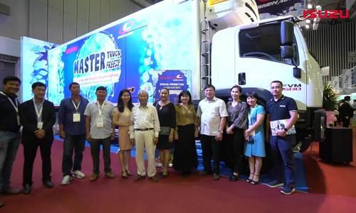 3.000 lượt khách tham quan gian hàng của Isuzu - Quyền Auto tại Vietfish 2019