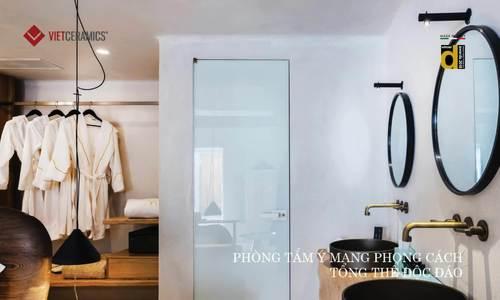Vietceramics giới thiệu 5 không gian phòng tắm ấn tượng