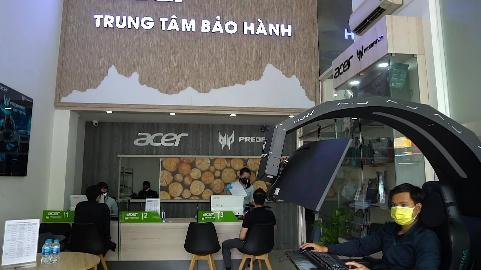Trung tâm bảo hành Acer chủ động phòng chống Covid-19