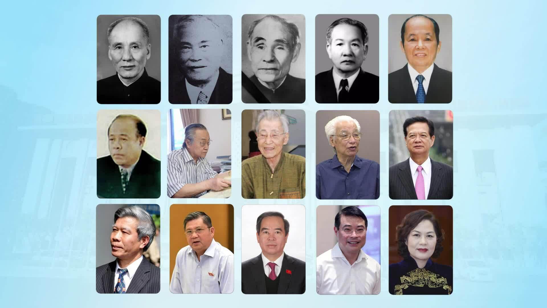 Nhìn lại 15 đời Thống đốc Ngân hàng Nhà nước