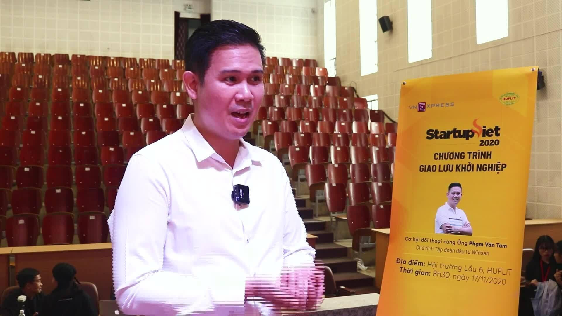 Ông Phạm Văn Tam: 'Làm thuê không phải xây ước mơ người khác'