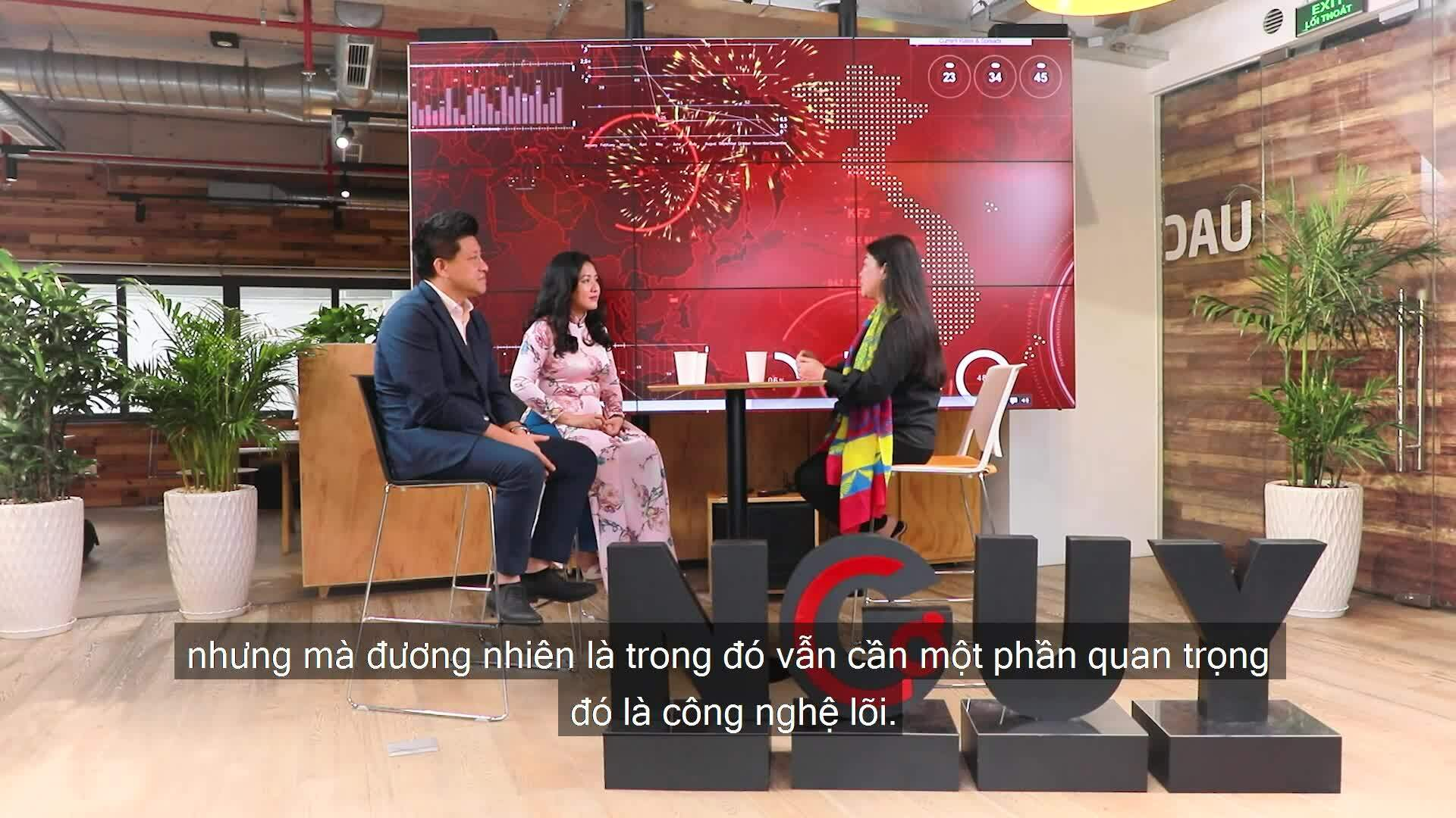 Vợ chồng doanh nhân đưa nhà máy in 3D sợi carbon về Việt Nam