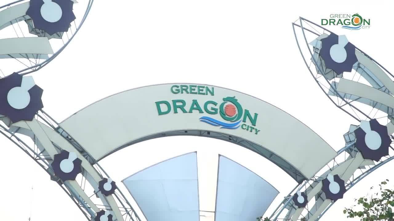 Green Dragon City hoàn thiện 95% hạ tầng giai đoạn một