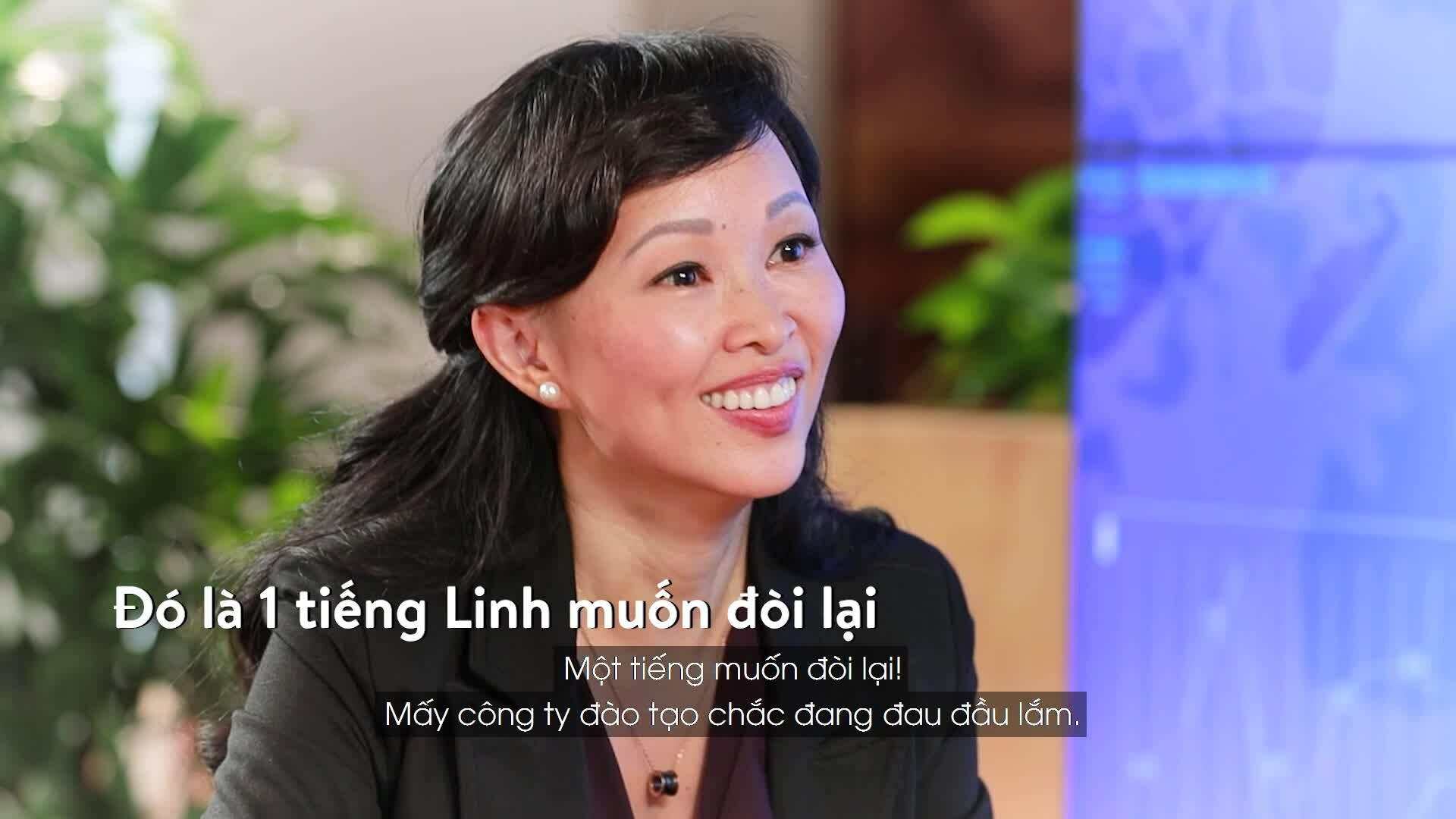 Shark Linh sáng lập công ty đào tạo kỹ năng