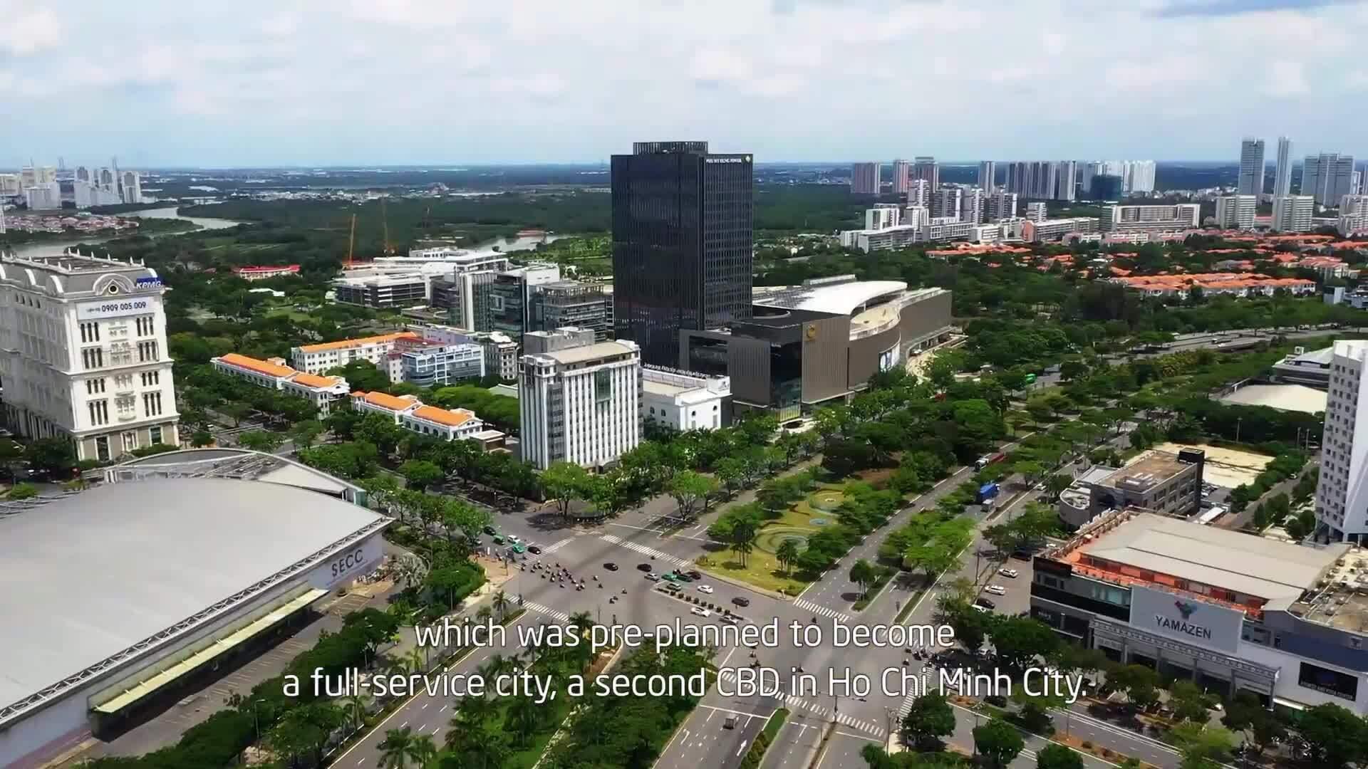 Phú Mỹ Hưng định vị thành trung tâm thứ hai của TP HCM