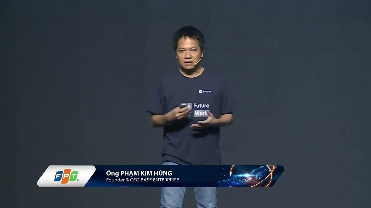CEO Base chia sẻ giấc mơ giúp doanh nghiệp Việt chuyển đổi số