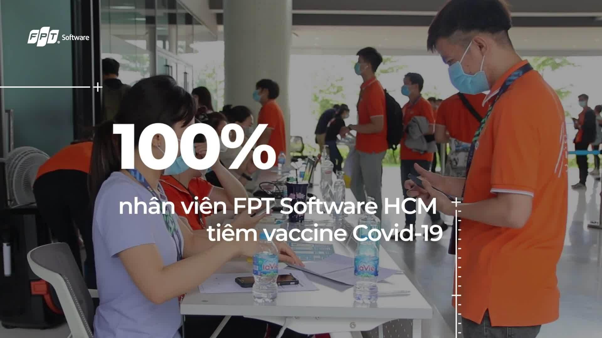 5.000 nhân viên FPT Software được tiêm vaccine Covid-19