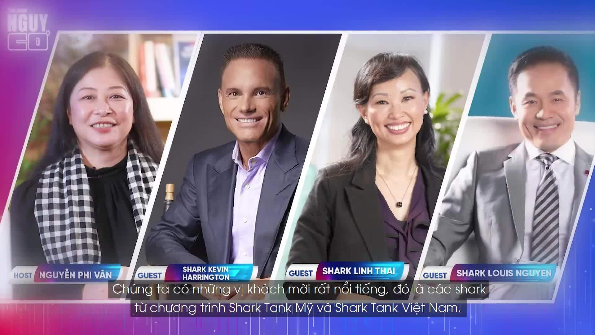 Dàn shark Việt - Mỹ quy tụ tại talk Nguy Cơ