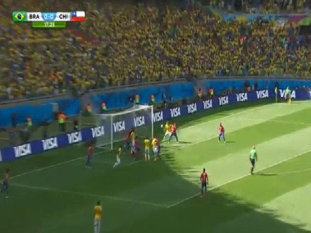 Brazil 1-1 Chile (penalty 3-2)