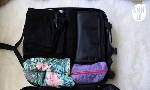 Đồ cần thiết và cách sắp xếp vali khi du lịch