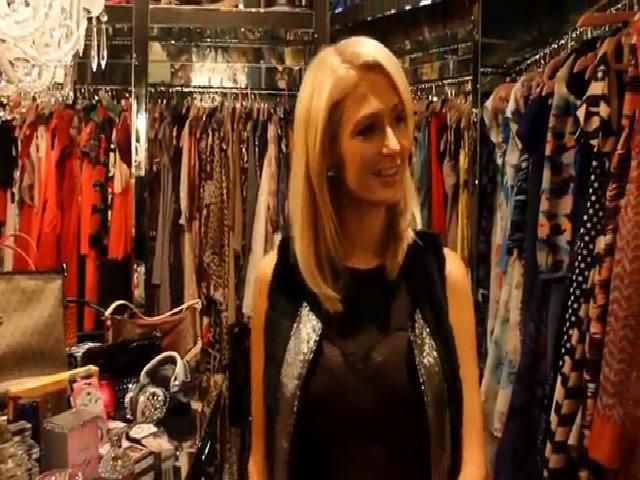 Tủ quần áo triệu đồ của Paris Hilton