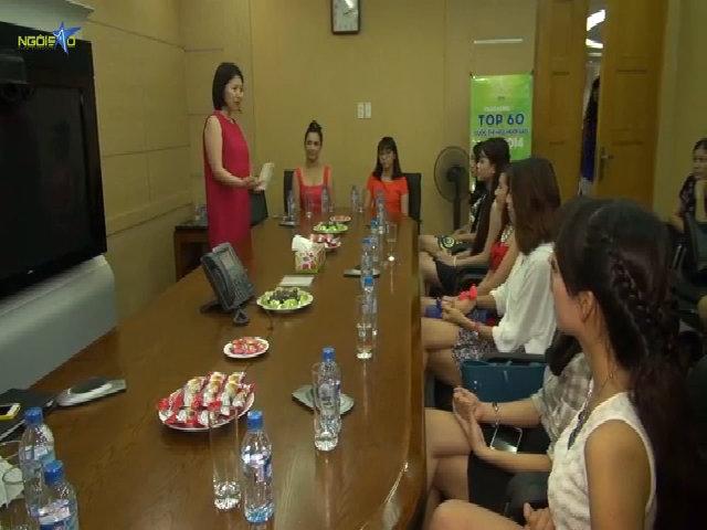 Thí sinh Miss Ngôi Sao tại Hà Nội