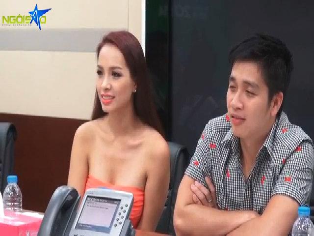 Giám khảo Thúy Hạnh phỏng vấn thí sinh Miss Ngôi Sao