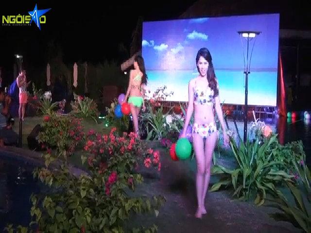 Thí sinh Miss Ngôi sao trình diễn bikini