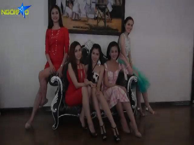 Nhóm 2 Miss Ngôi Sao tự tin trước đêm chung kết