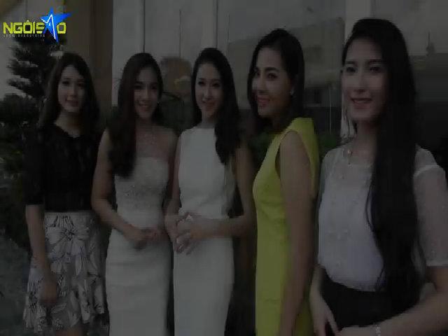 Nhóm 5 Miss Ngôi Sao lo lắng trước đêm chung kết
