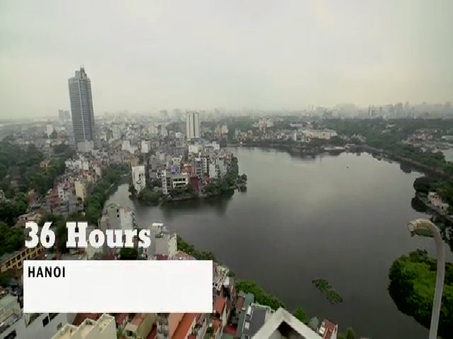 36 giờ ở Hà Nội